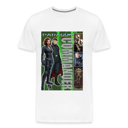 paragon commander kopie - Männer Premium T-Shirt