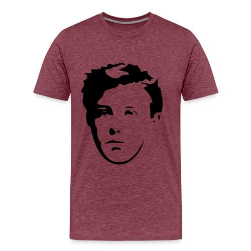 Arthur Rimbaud visage - T-shirt Premium Homme