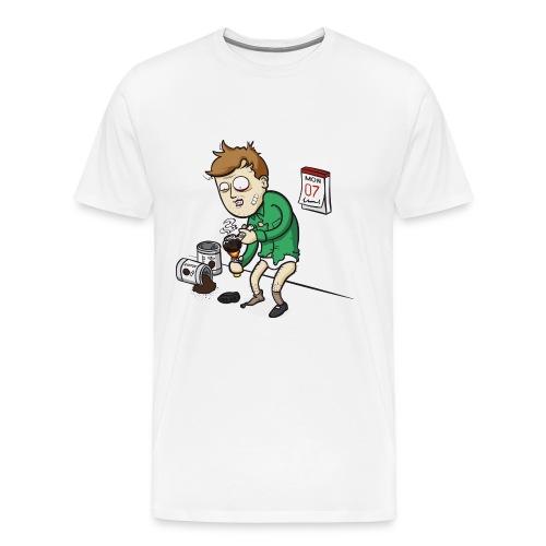 Oh verdammt es ist Montag! - Männer Premium T-Shirt