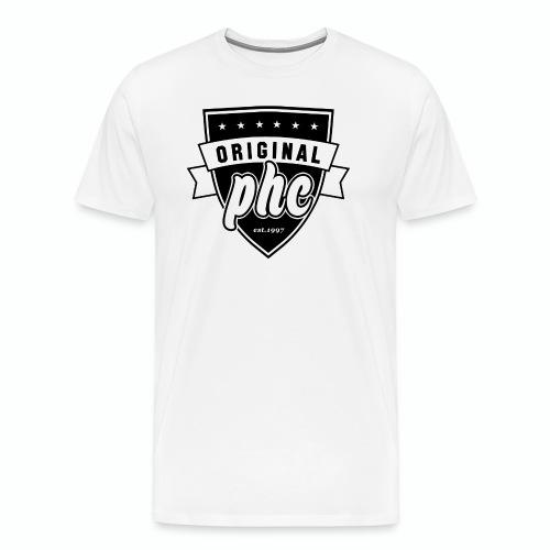 PHC transparent - Premium-T-shirt herr