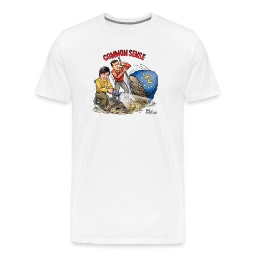 The Ben Garrison Cartoon - Men's Premium T-Shirt