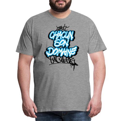 chacun son domaine - T-shirt Premium Homme