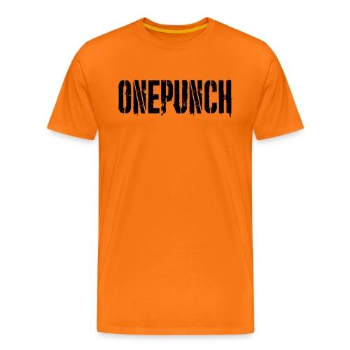 Boxing Boxing Martial Arts mma tshirt one punch - Men's Premium T-Shirt