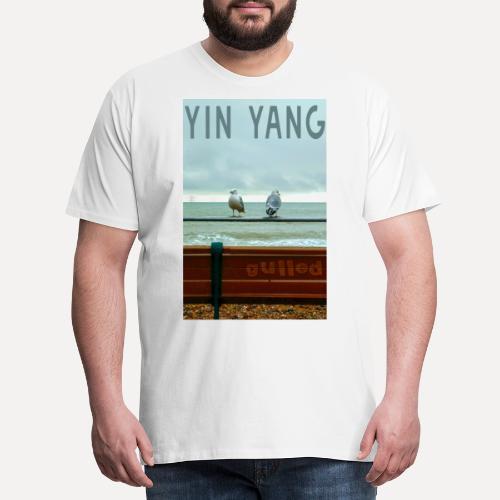 Yin Yang Gulls - Men's Premium T-Shirt