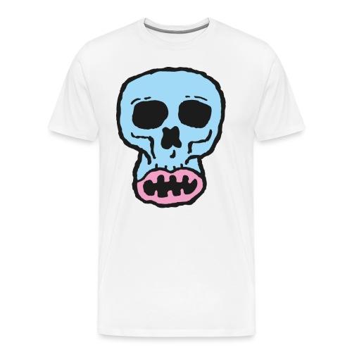 Helvetin iloinen ruulanko - Miesten premium t-paita