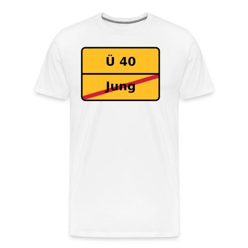 Über 40 - Männer Premium T-Shirt