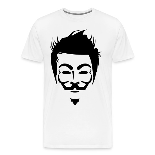 Anonymous Hipster - T-shirt Premium Homme