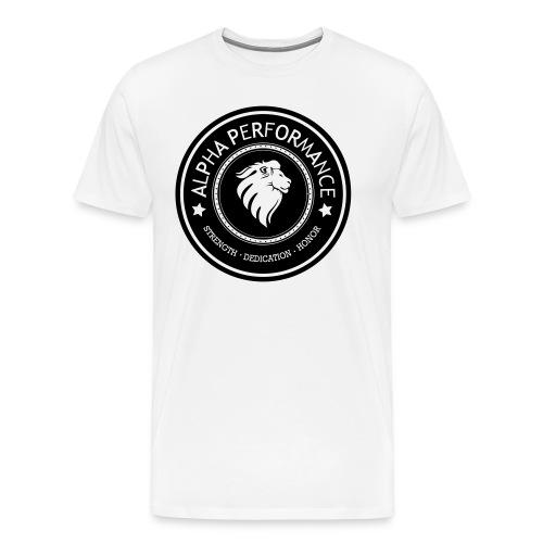 ALPHA PERFORMANCE - Mannen Premium T-shirt
