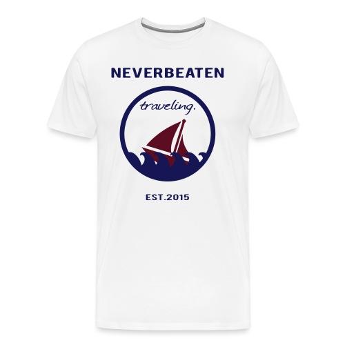 Traveling, Neverbeaten - Männer Premium T-Shirt
