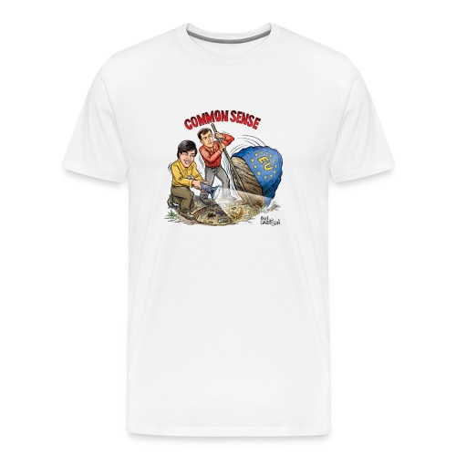 The Ben Garrison Cartoon - Men's Premium T-Shirt