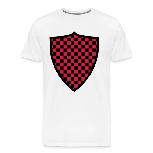 Schild 1 rot - Männer Premium T-Shirt