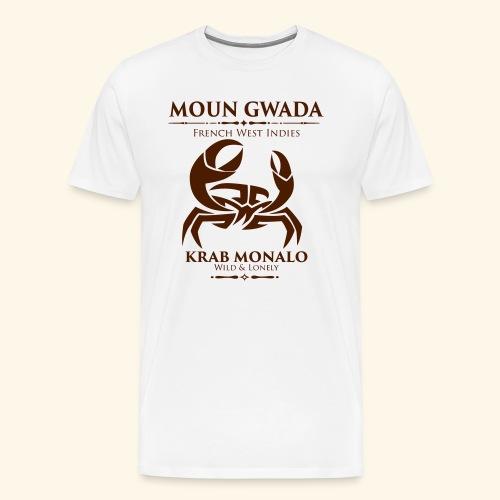 Moun Gwada-Krab monalo - T-shirt Premium Homme