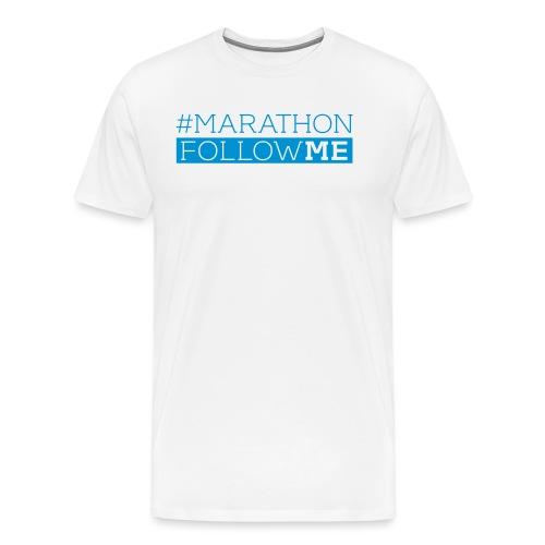 # Marathon - Follow me - Männer Premium T-Shirt