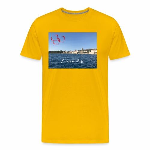 I love Rab - Männer Premium T-Shirt