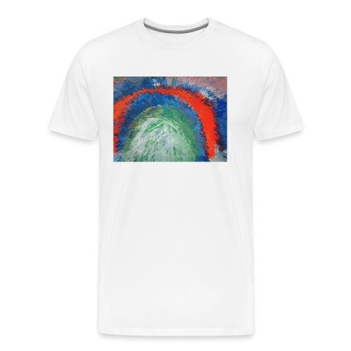 NACH OBEN - Männer Premium T-Shirt