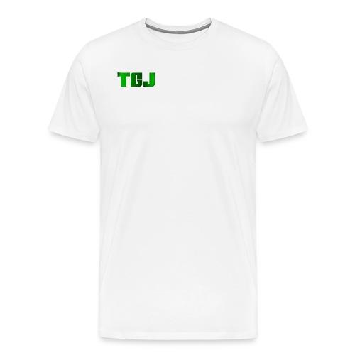 TGJ OFFICIAL LOGO - Herre premium T-shirt