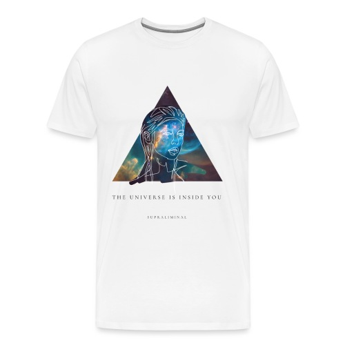 THE UNIVERSE IS INSIDE YOU - Premium-T-shirt herr