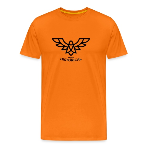 Text & Logo - Men's Premium T-Shirt