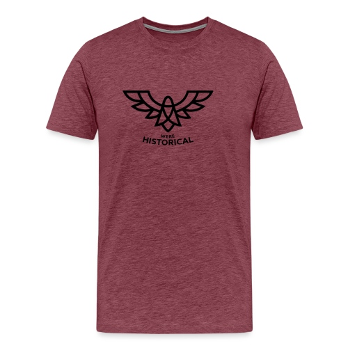 Text & Logo - Men's Premium T-Shirt