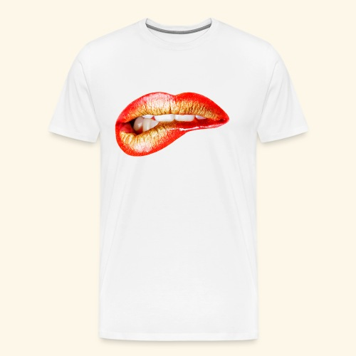Lips - Maglietta Premium da uomo