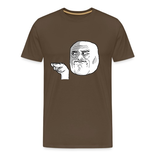 Emoticon meme I Watching You png - Mannen Premium T-shirt