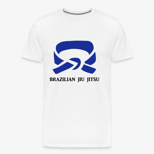 BJJ Blue Belt Clothing - Men's Premium T-Shirt
