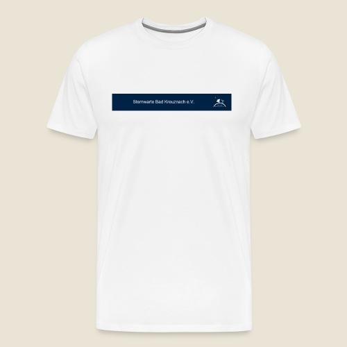 logo_blau_kurz - Männer Premium T-Shirt