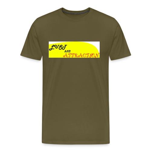 lust ans attraction - Men's Premium T-Shirt