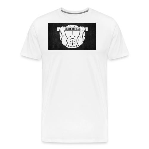 bar brothers wallpaper hard work by brian9985 - Men's Premium T-Shirt