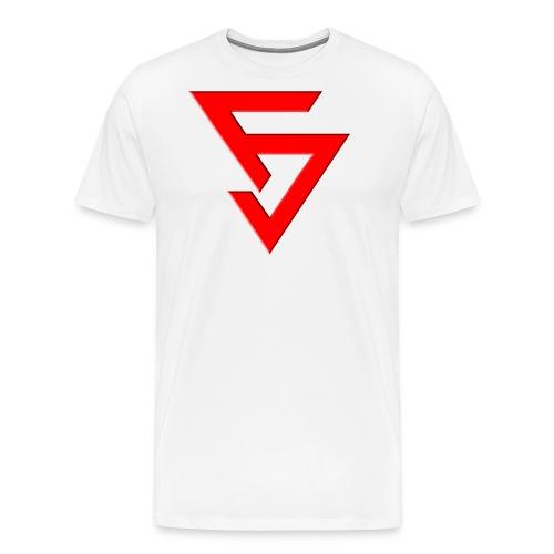 LogoFJRougeClair - T-shirt Premium Homme