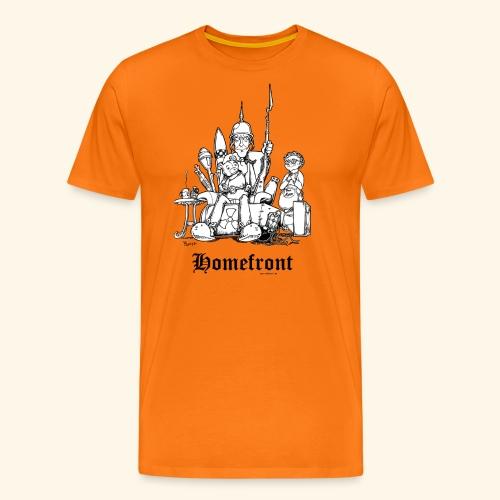 Homefront Heimatfront Waffen Mama Muttersöhnchen - Männer Premium T-Shirt
