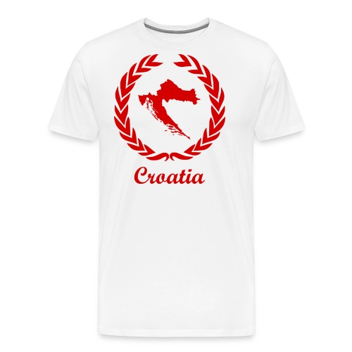 Connect ExYu Croatia Red Edition - Männer Premium T-Shirt