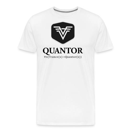 Quantor Logo Black - Männer Premium T-Shirt