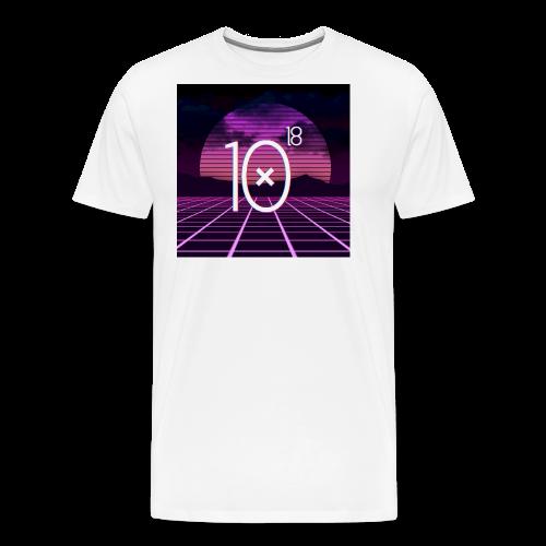 Synthwave Tee - Koszulka męska Premium