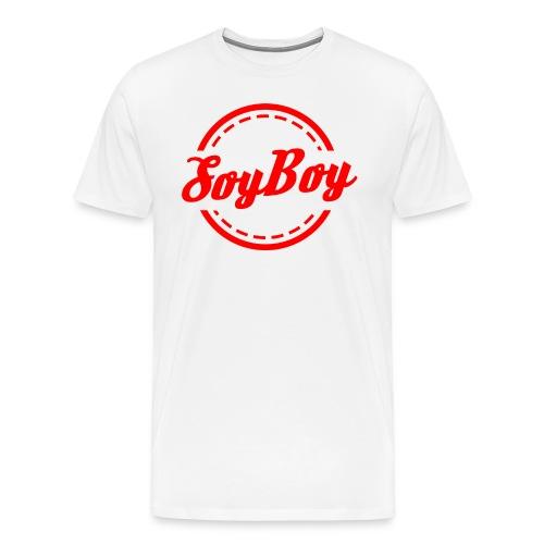 For Us Soy Boys Red - Men's Premium T-Shirt