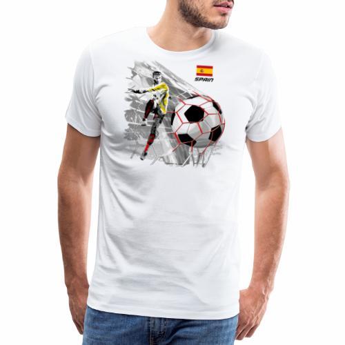 SPAIN FOOTBALL PRODUCTS - Espanya fútbol - Miesten premium t-paita