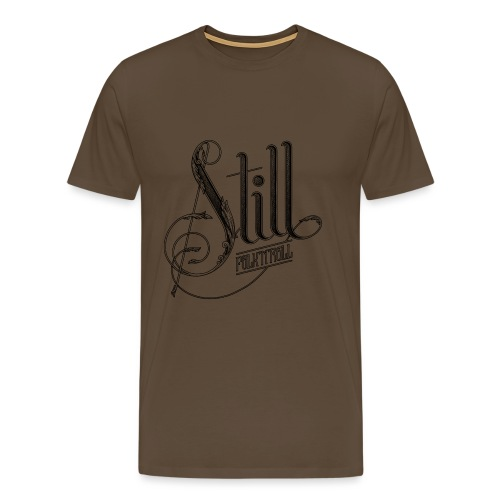 Still Logo - Black - Men's Premium T-Shirt