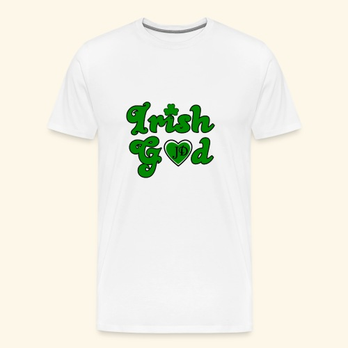 Irish God - Men's Premium T-Shirt