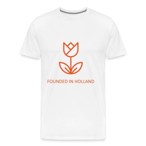 FiH shirt orange png - Men's Premium T-Shirt