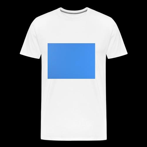 hellblauer kasten - Männer Premium T-Shirt