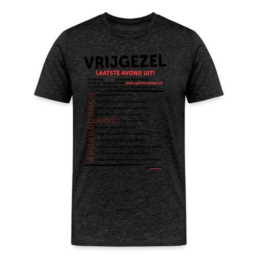 Laatste avond uit man - Mannen Premium T-shirt