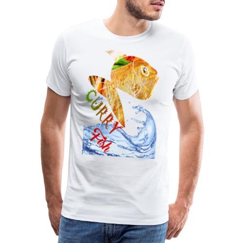 CURRY FISH HEAD - Men's Premium T-Shirt