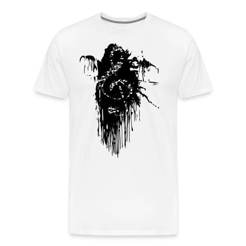 Notenschluessel Farbfleck 2 - Männer Premium T-Shirt