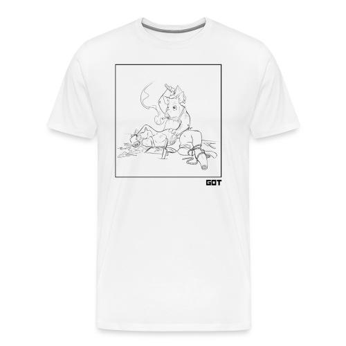 pig butcher noir - T-shirt Premium Homme