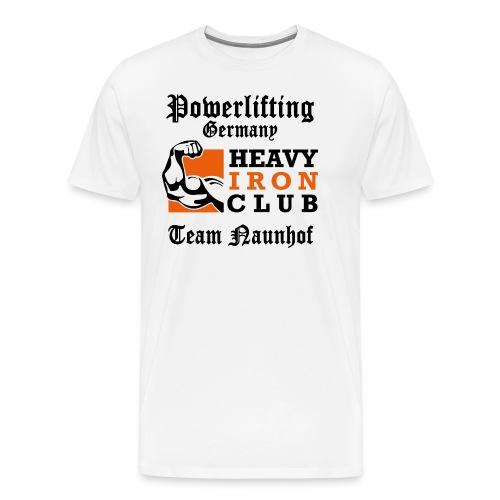 Heavy Iron Club Team-Logo für hellen Untergrund - Männer Premium T-Shirt