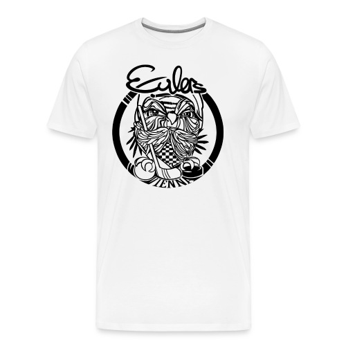 Eulers on White - Männer Premium T-Shirt