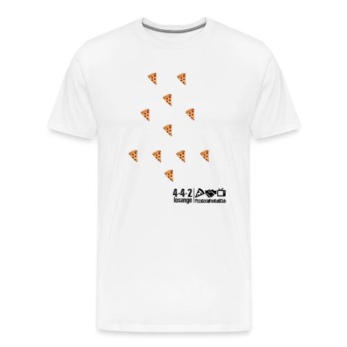 TABLEAUNOIR 442LOSANGE VERSION1 PNG - T-shirt Premium Homme