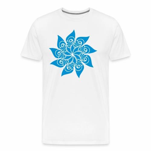 Rosace fleur - T-shirt Premium Homme