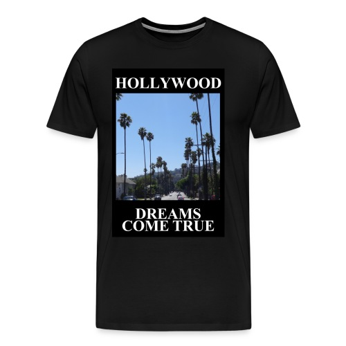 hollywood dreams jpg - Männer Premium T-Shirt