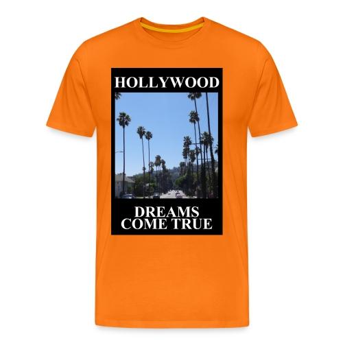 hollywood dreams jpg - Männer Premium T-Shirt